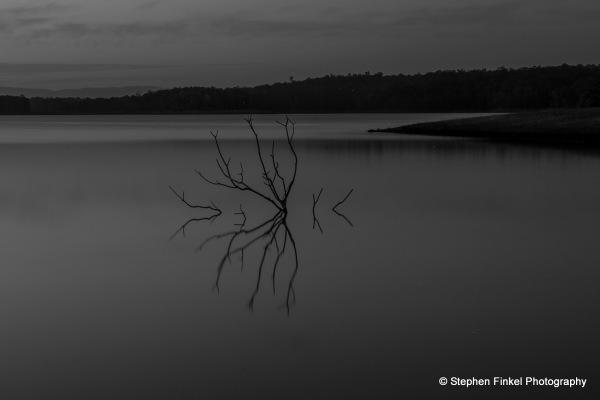 Moody Time at the Lake