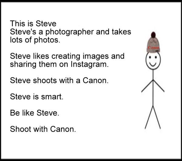 Be Like Steve LOL