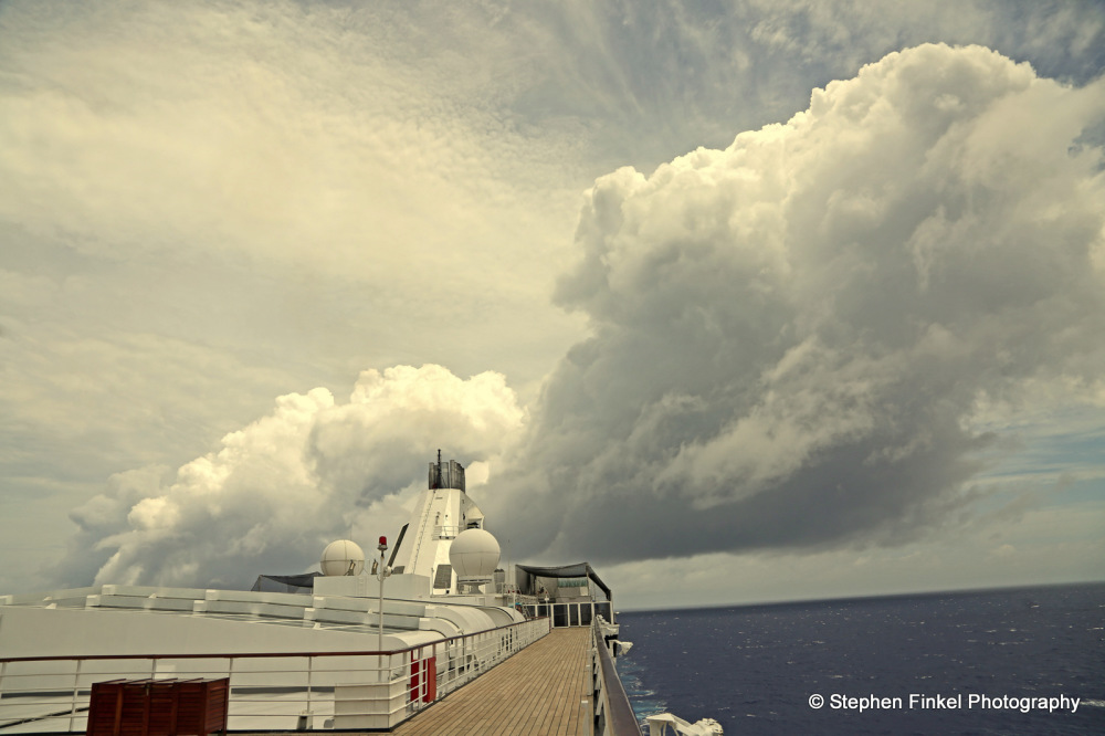 Cloudy Sky at Sea