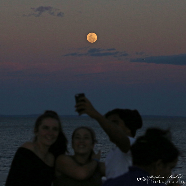 Super Moon Selfie