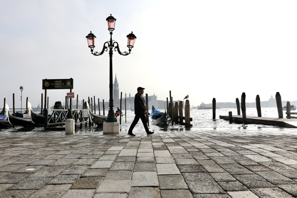 Walking in Venice