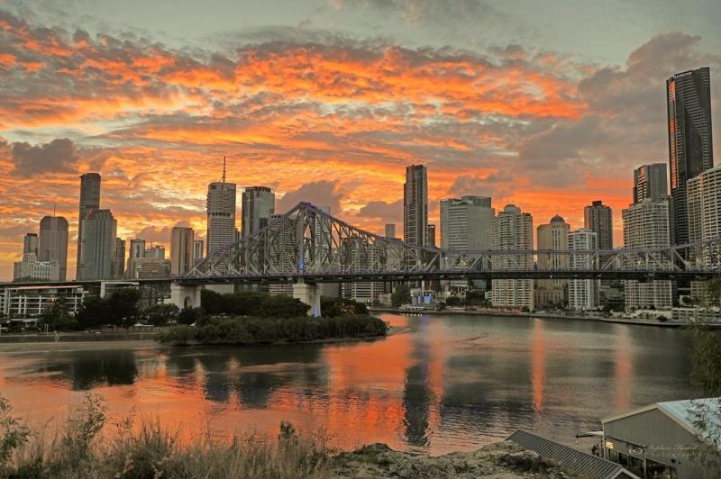 Sunset in Brisbane
