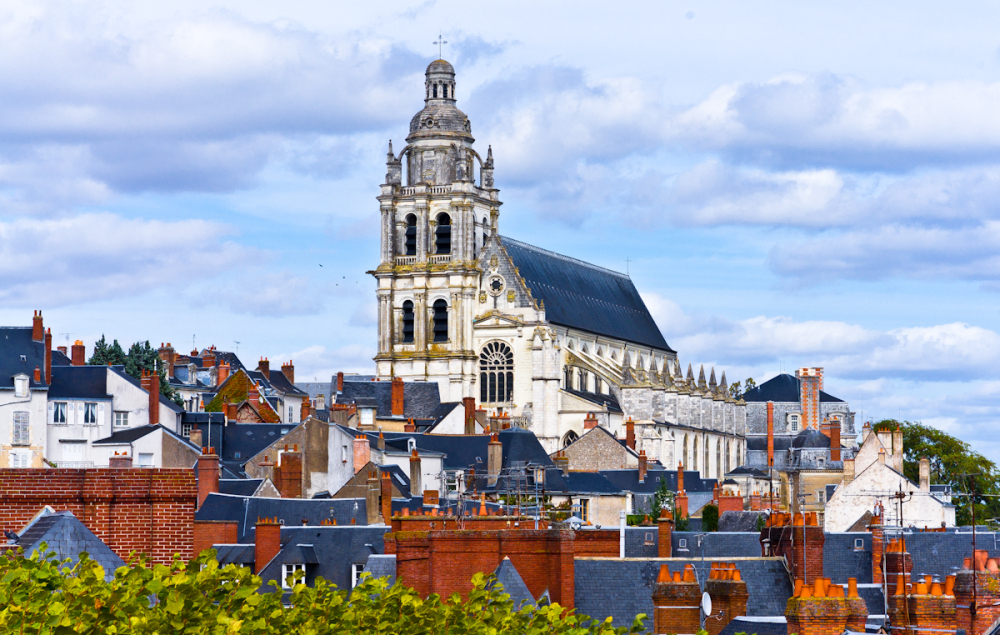 roofs of Blois
