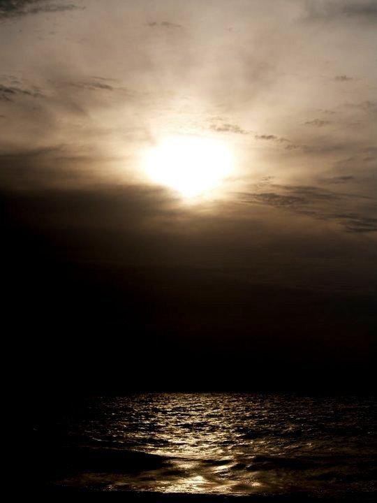 Sun by the Ocean