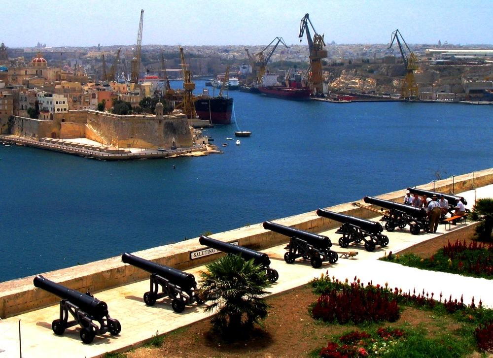 grand harbour harbor malta europe gardens