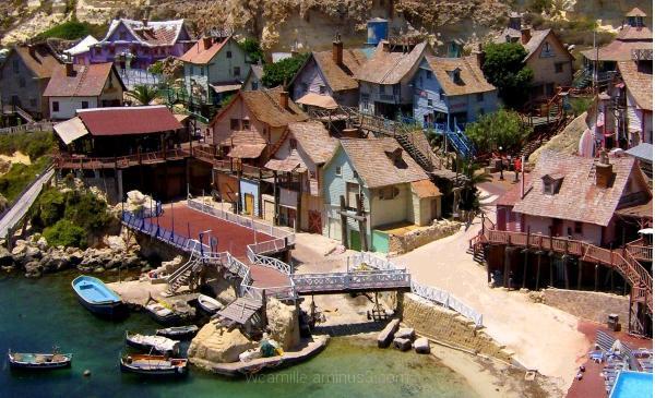 Popeye Village, Malta, Colour