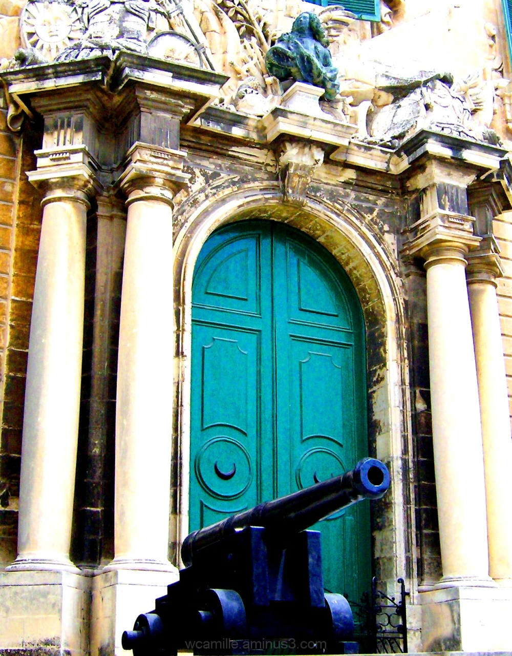Auberge d'Castile, Malta, Colour, Valletta, Malta