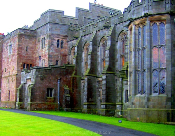 Bambourough, Castle, Alnick, England, North east