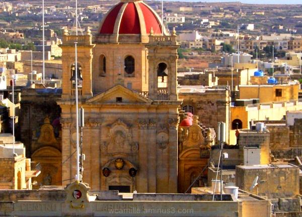 Roof, Tops, Gozo, Malta, Architecture