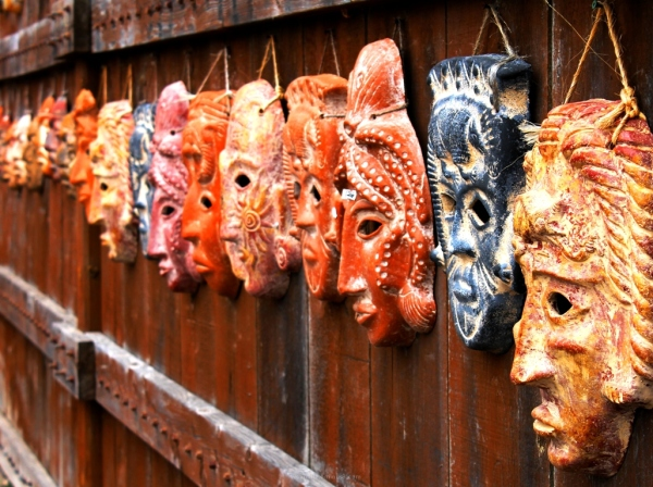 Mexican, Mayan Masks