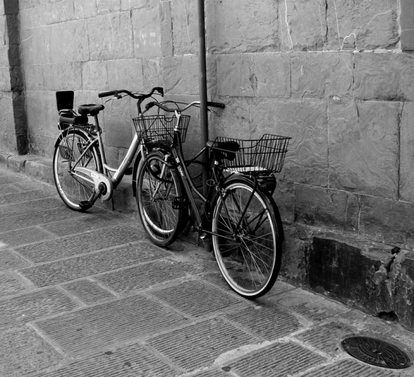 Bicycle, Florence, Italy, transportation