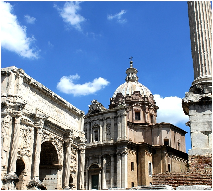 Rome Church forum ancient