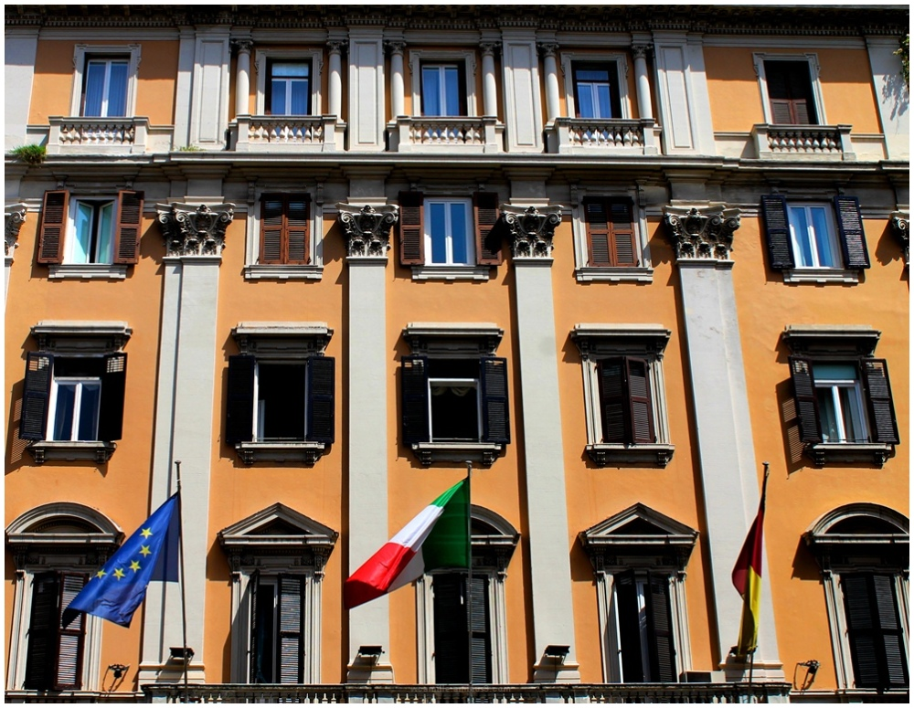 Grand hotel, Italy, Rome