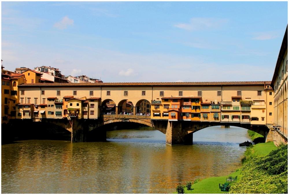Florence Bridge, Italy, River,Architecture