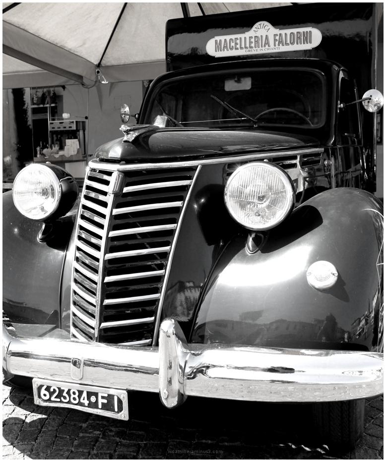 fiat truck old greve en chianti