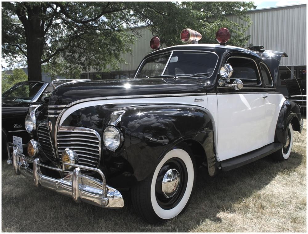 Car, Police, Classic