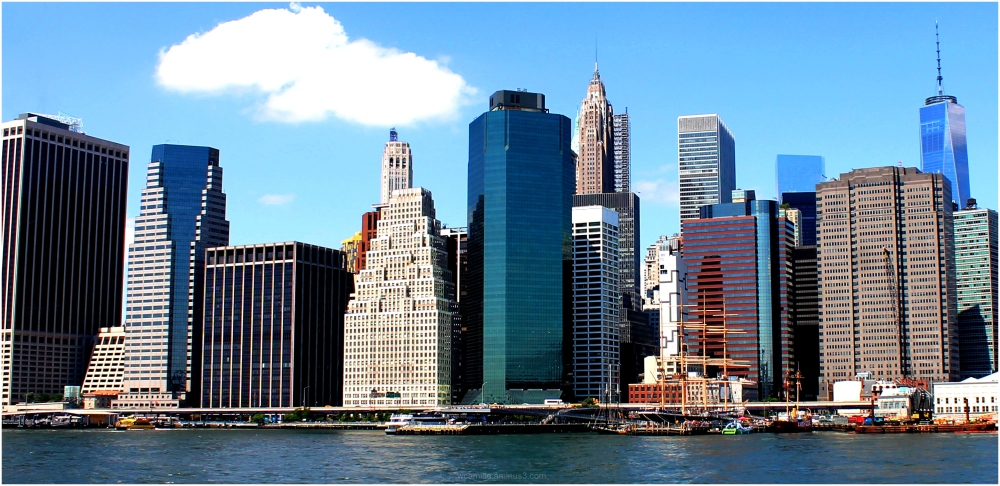Manhattan, Lower, Buildings, East, NewYork