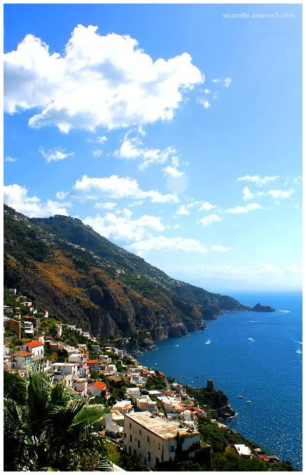 Amalfi, Italy, Coast, Sea