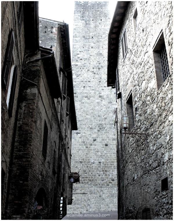 San Gimignano, tuscany, italy, town, tower