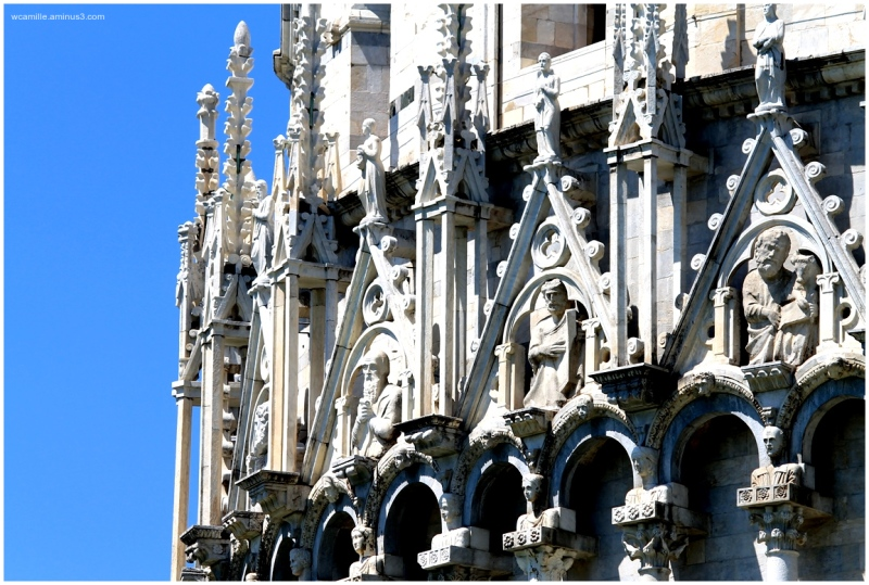 Pisa, Duomo, Italy, detail