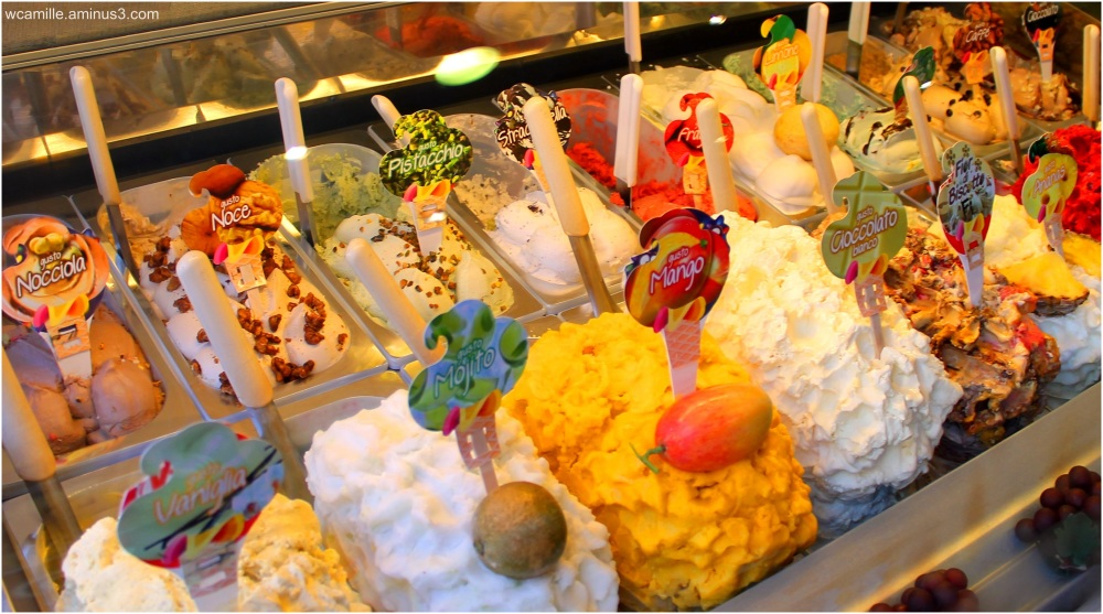Gellatto, ice cream, Italian