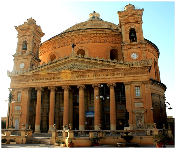 Malta, Mosta, Dome, Church, Santa Maria,