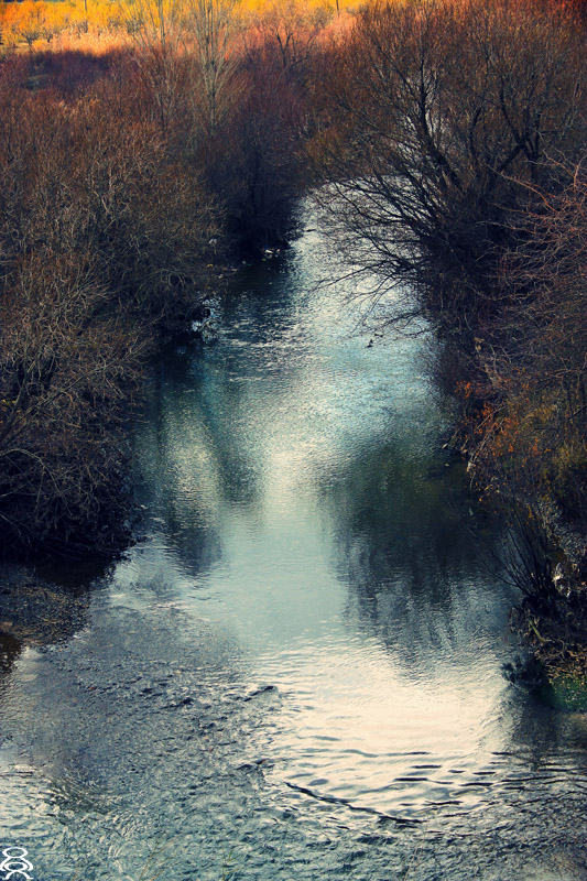 Flowing...