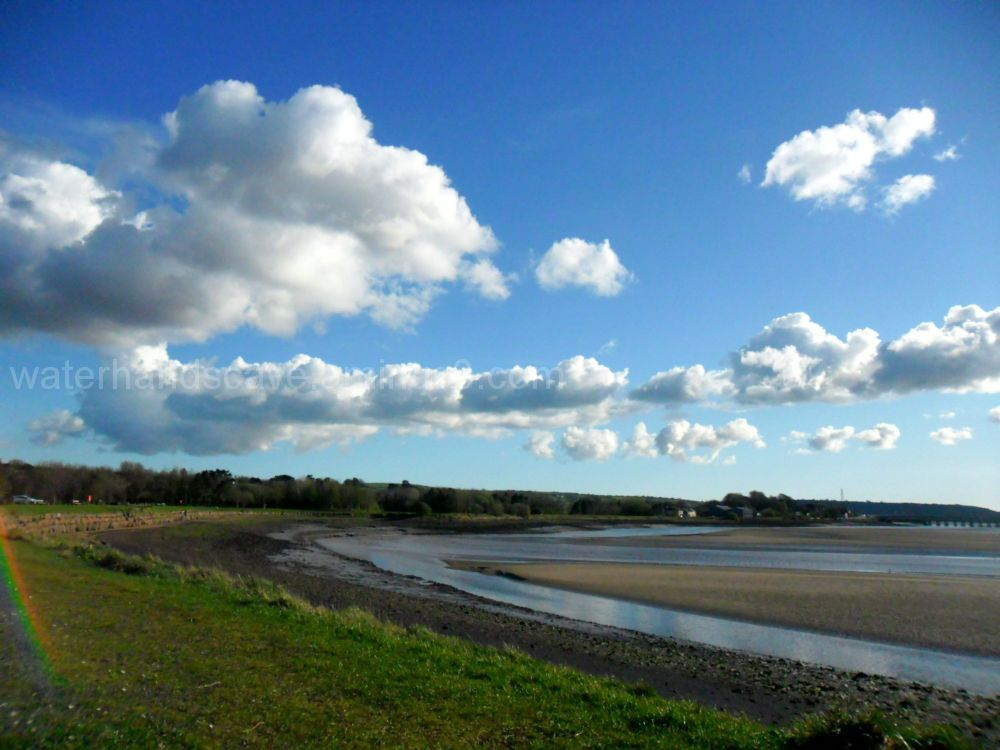 Clouds over the estuary