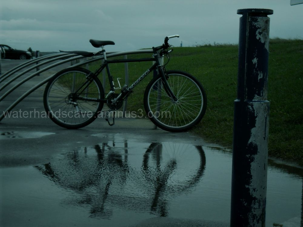 bycicle, reflection
