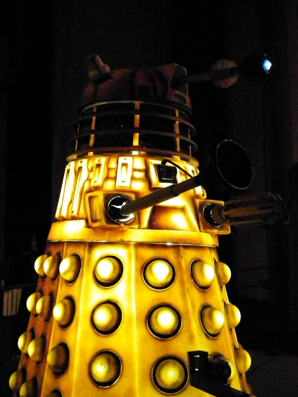 The Daleks are coming.