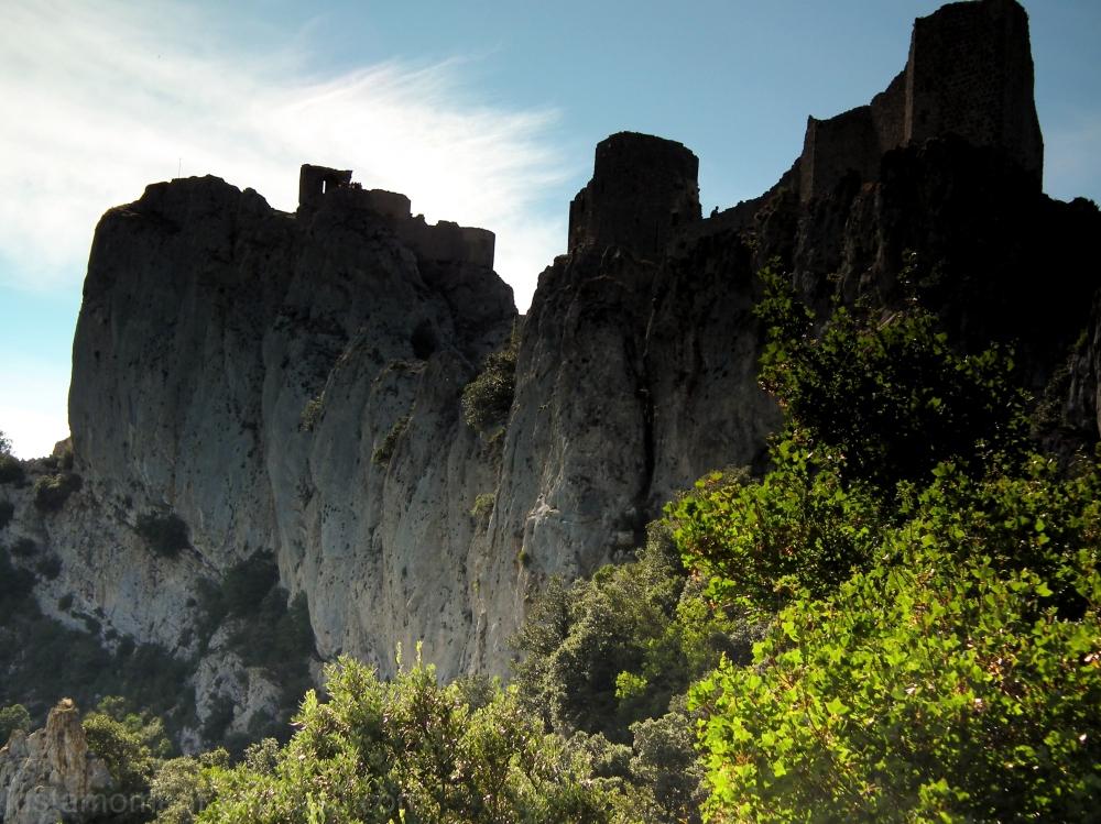 Castle Peyrepertuse.