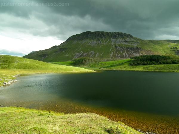 Tyrrau Mawr lake Cregennen snowdonia national park