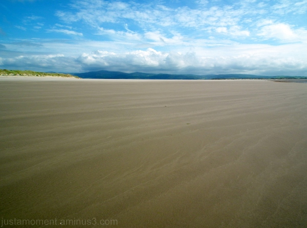 the beach at aberdovey