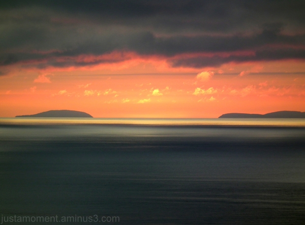 sunset north wales