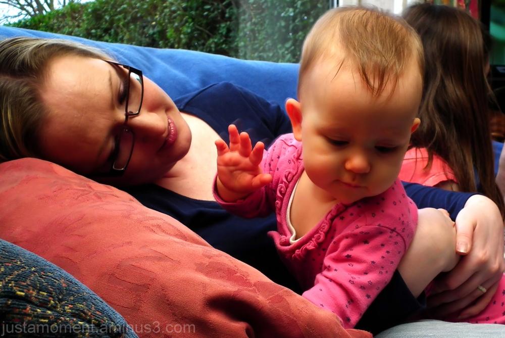 Daughter and Granddaughter.