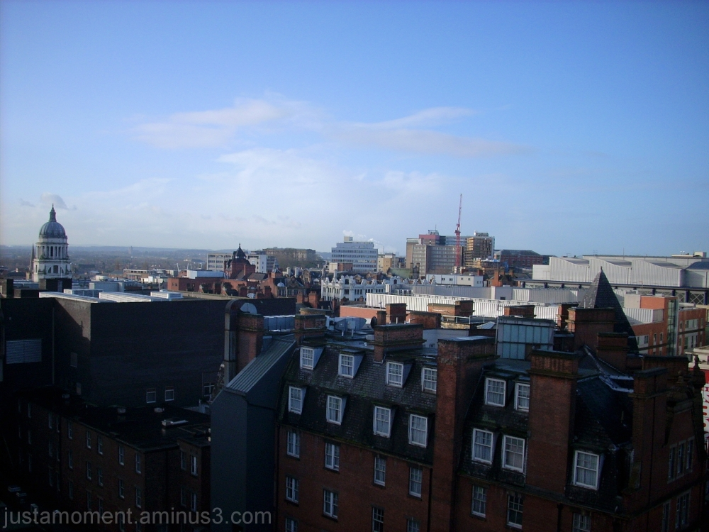 Rooftop Nottingham.