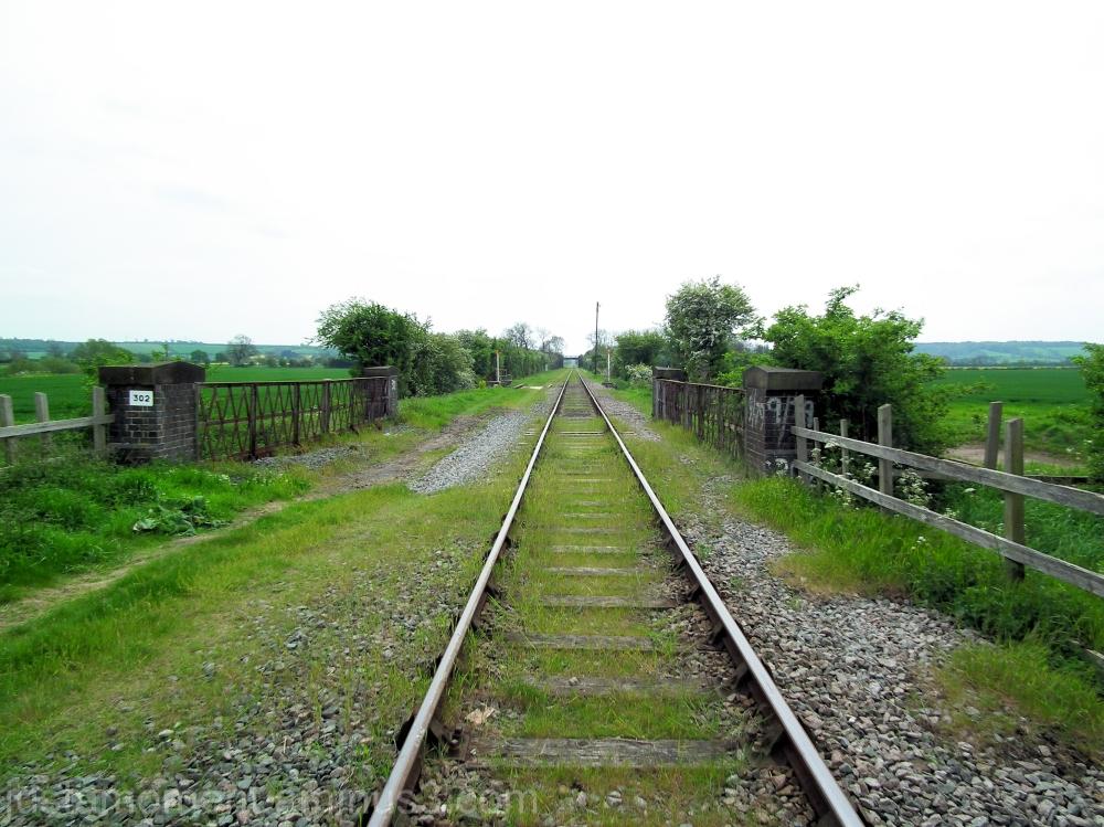 Ruddington train tracks