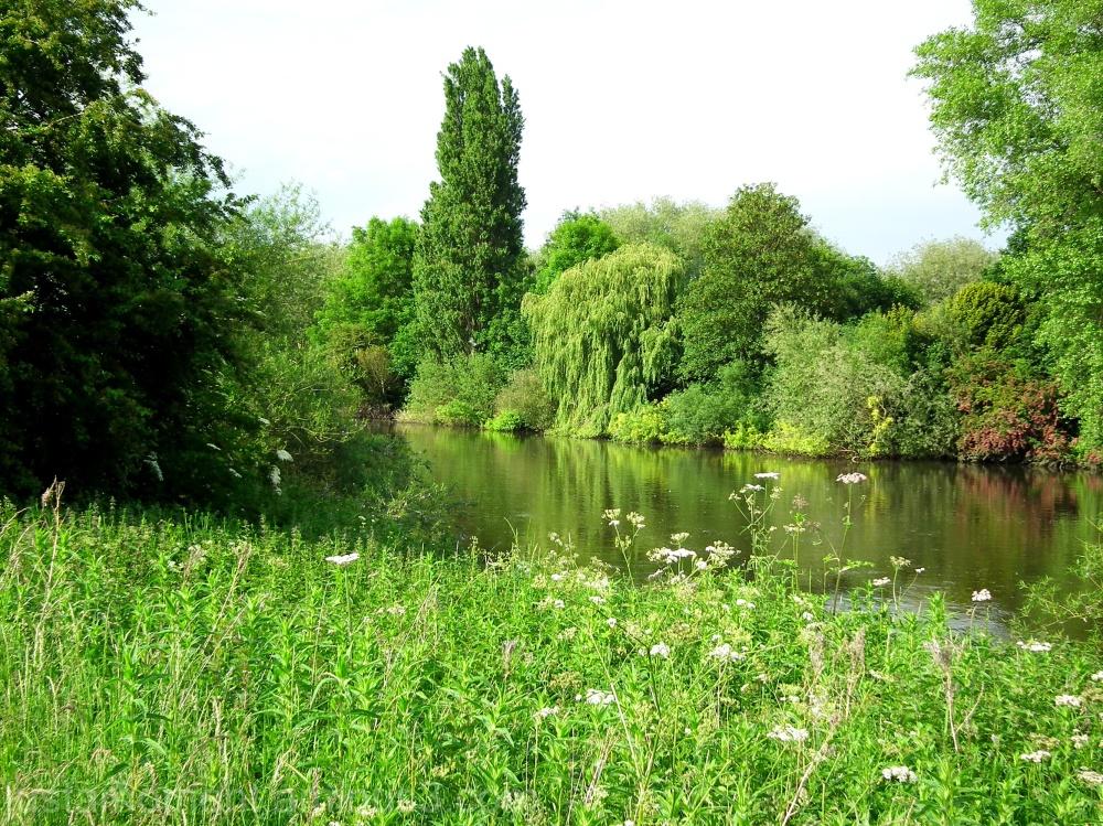 The River Trent Nottingham.
