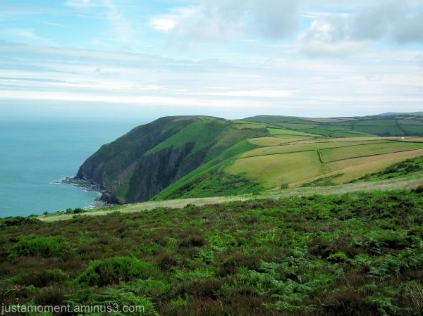 North Devon Coast.