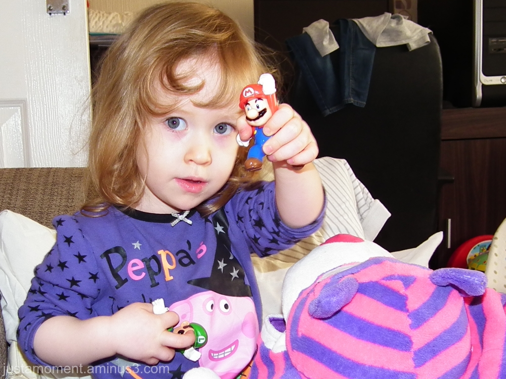 Peppa, Mario and Luigi