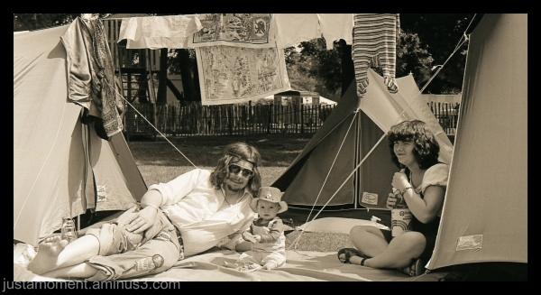 Cambridge Folk Festival 1981.