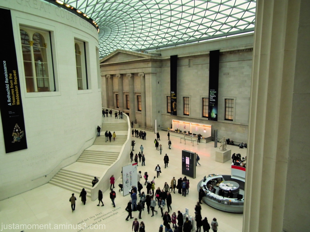 The Great Court, British Museum.