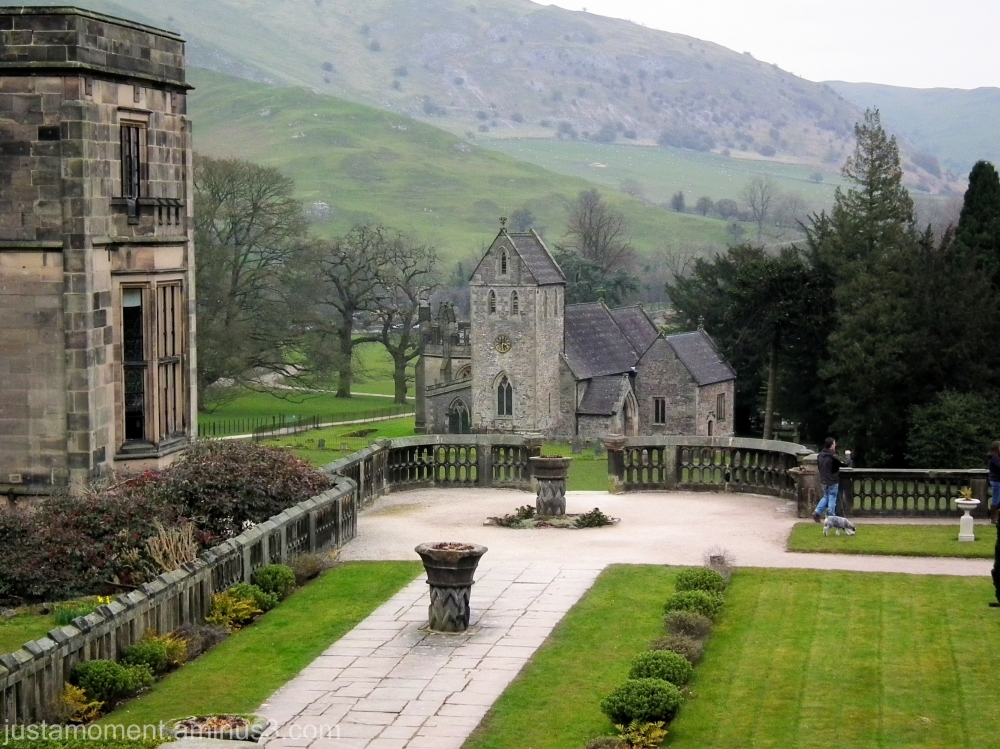 The grounds of Ilam Hall.