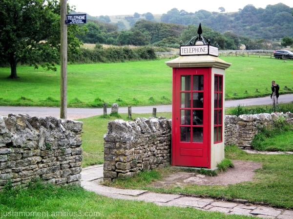 Phone box.