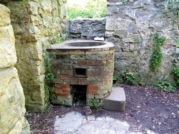 tyneham village copper boiler