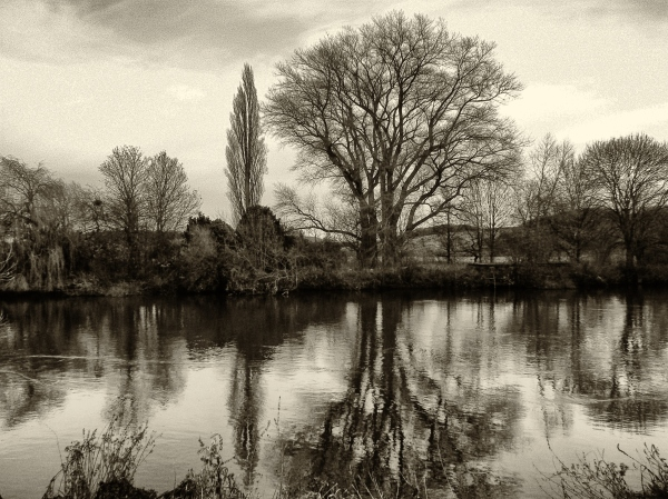 Down by the Trent.