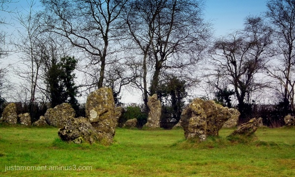 The Rollright Stones - The Kings Men stone circle.