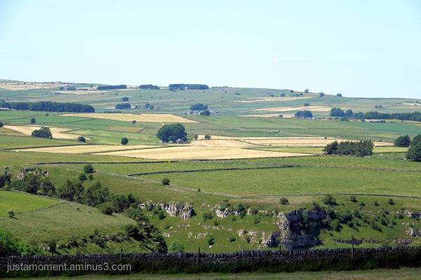 Walking in Derbyshire.