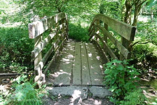 Bridge over the brook.