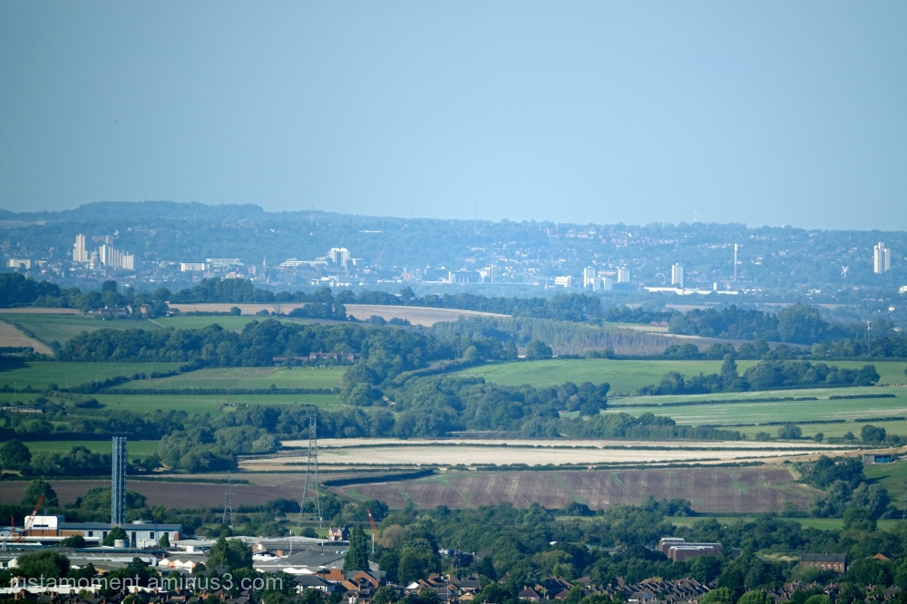 Nottingham from a distance.